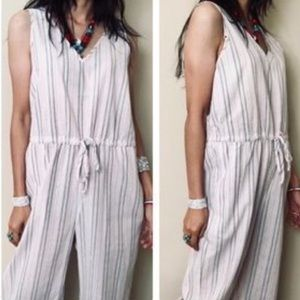 Anthropology Drew NWT Linen Jumpsuit sz M